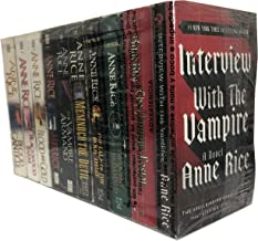 """""""The Vampire Chronicles"""" (10 Book Set): Interview; Vampire Lestat; Queen of Damned; Tale of Body Thief; Memnoch the Devil;..."""