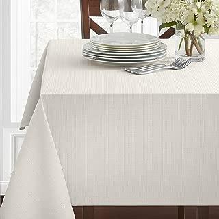 Benson Mills Textured Fabric Tablecloth, 60