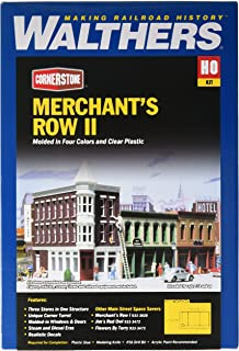 Walthers Cornerstone Series Kit HO Scale Merchant's Row II