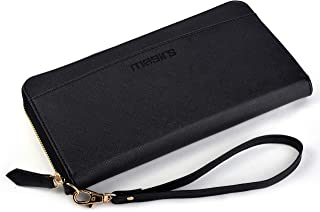 RFID Wallets for Women - The RFID Wallet Includes Pockets for Credit Cards, Passport, Receipts, Cash, Picture ID License W...