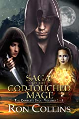 Saga of the God-Touched Mage (Vol 1-8) Kindle Edition