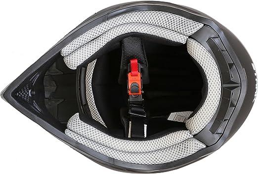 Ato Moto Mx Mexico Schwarz Matt Größe S 55 Bis 56 Cm Enduro Helm Mit Neuster Sicherheitsnorm Ece 2205 Auto