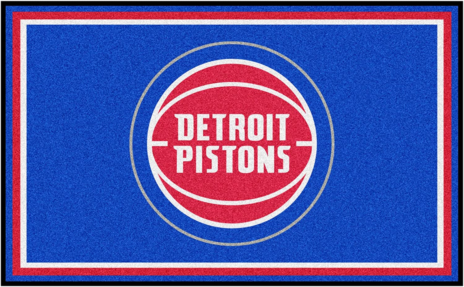 NBA Popular product - Detroit Pistons 4ft. Plush 6ft. Area x Sales of SALE items from new works Rug