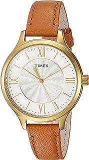 Timex Women's Peyton Leather Strap Watch