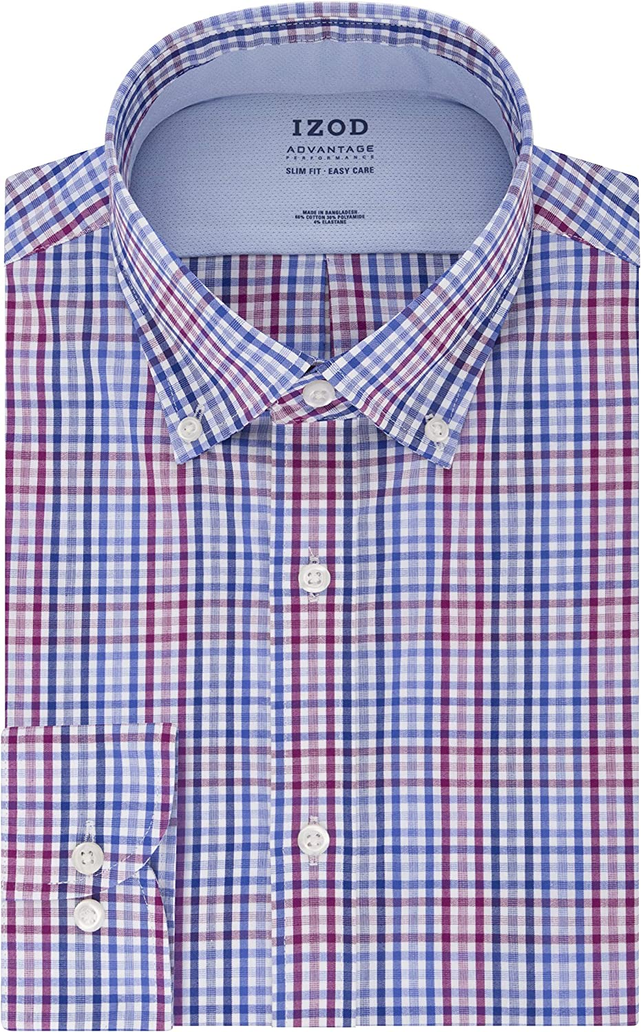 outlet IZOD Men's Dress Shirt Slim Fit FX Collar C Cooling Cool Ranking TOP9 Stretch