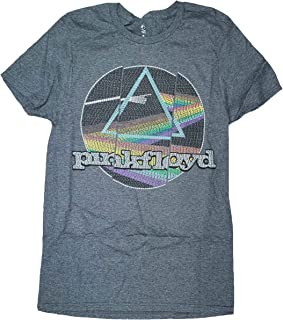 Dark Side of The Moon Gray Graphic T-Shirt
