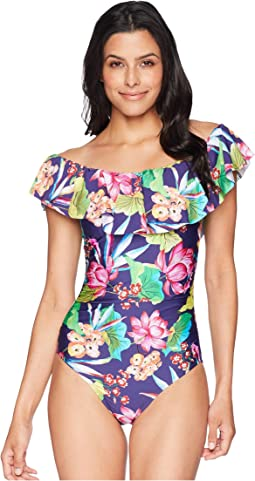 Bora Bora Off the Shoulder One-Piece