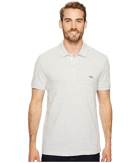 Sleeve Polo Slubbed Used Short Regular Pique Lacoste Dyed 5IqvZw