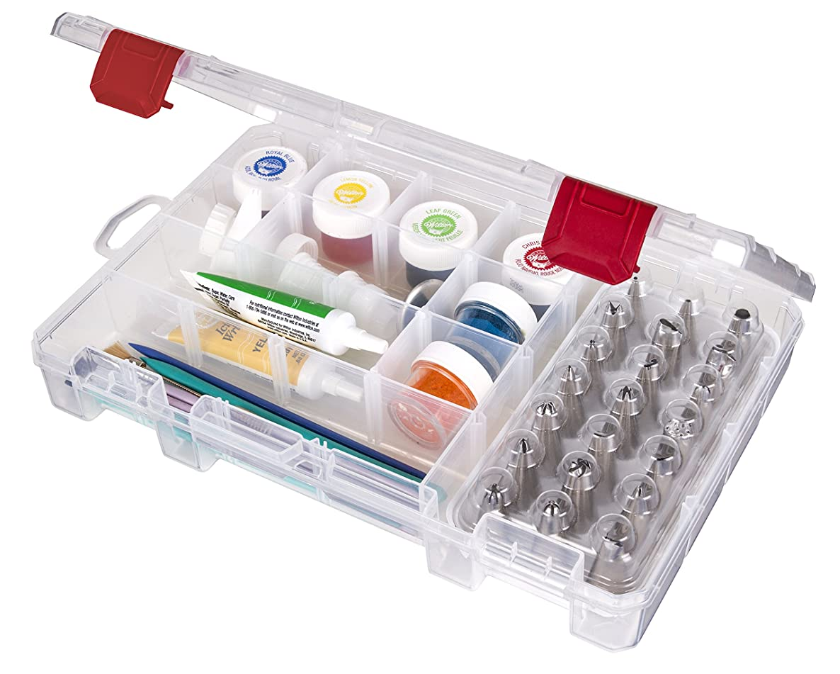 ArtBin Baker's Cupboard Easy View Cake Decorating Storage Cabinet, Small (10.75