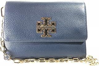 11eaa4ea9c4e Tory Burch Britten Chain Wallet Women s Small Leather Handbag