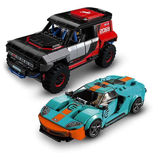 レゴ(LEGO) スピードチャンピオン フォードGTヘリテージエディション & ブロンコR 76905