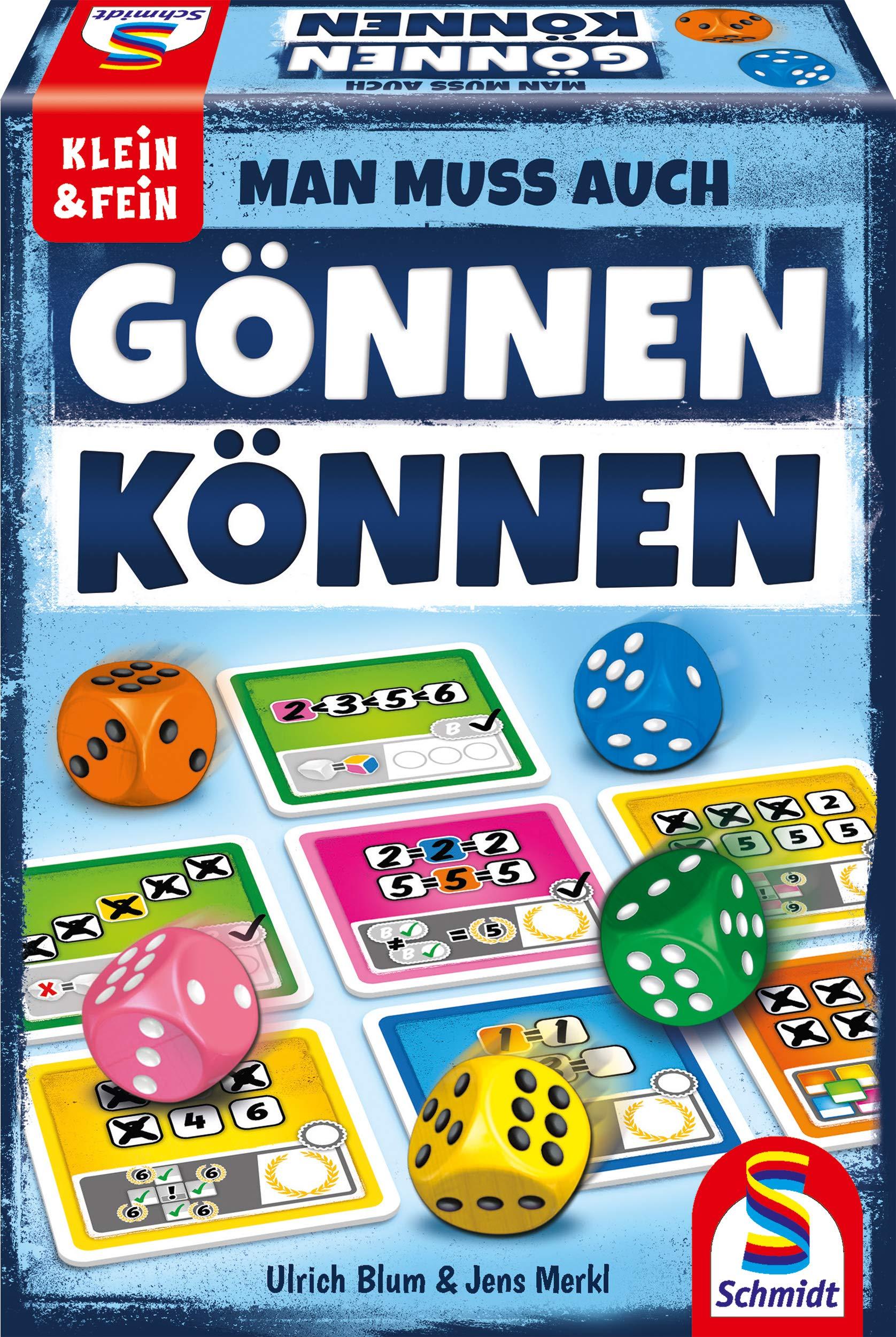 Schmidt Spiele- Juego de Dados de la Serie Klein & Fein, Color carbón (49368): Amazon.es: Juguetes y juegos