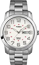 Timex Men's T2N437 Highland Street Silver-Tone Stainless Steel Bracelet Watch