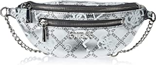 Guess Womens Money Belt, Silver Multi - MG767480