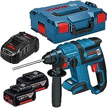 Bosch GBH 18 V-EC rotary hammers 1400 RPM - Martillo perforador (1,8 cm, 1400 RPM, 1,7 J, 4550 ppm, 1,3 cm, 2 cm)