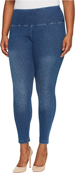 Lysse Plus Size Denim Leggings