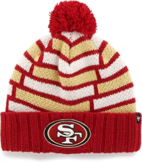'47 NFL Breakout Cuff Knit Hat with Pom