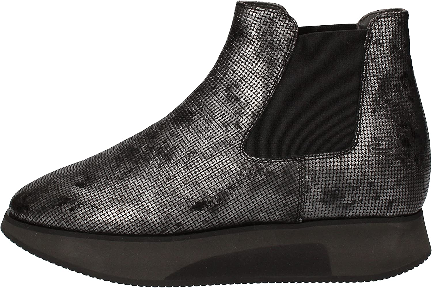 GUARDIANI SPORT Boots Womens Leather Grey
