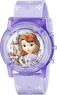 Sofia the First Kids' SOF1561SR Digital Display Analog...