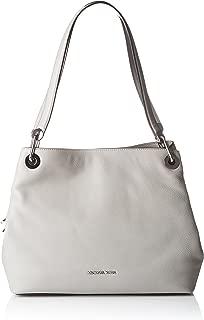 Michael Kors Raven Women's Large Leather Shoulder Tote Handbag