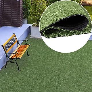 comprar comparacion Tapiso Césped Artificial Exterior Alfombra de Hierba Sintético Terraza Jardín Balcón Enrollable por Metros 200 x 110 cm