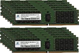 Hynix Original 384GB (12x32GB) Server Memory Upgrade for Cisco UCS SmartPlay B200 M4 Advanced 1 DDR4 2400MHZ PC4-19200 ECC Registered Chip 2Rx4 CL17 1.2v DRAM RAM Adamanta