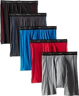 Hanes Men's 5-Pack Sports-Inspired FreshIQ Odor...