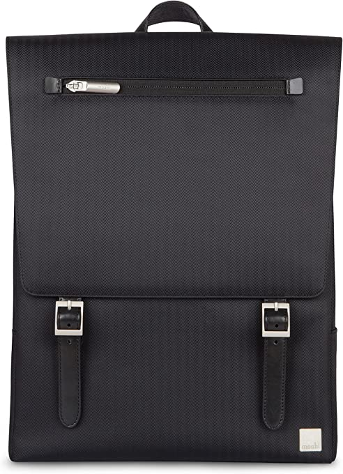 "Moshi Backpack for Up to 13"" Laptops Helios Lite Laptop Backpack, Slate Black"