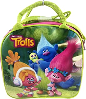 Trolls DreamWorks Poppy and Friends Lunch Bag Plus Water Bottle - Hot Pink