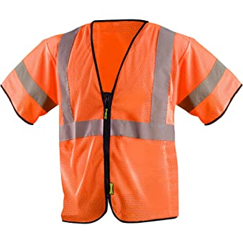Safety Flag C2ANSSV-3XL Class 2 Safety Vest 3X-Large Orange