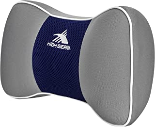 High Sierra HS1427 - Travel Neck Pillow for Car/SUV - 100% Pure Memory Foam - Provides Exceptional Neck Support - Fits Mos...