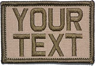 Customizable Text Patch - 2x3 Morale Patch - Coyote Brown