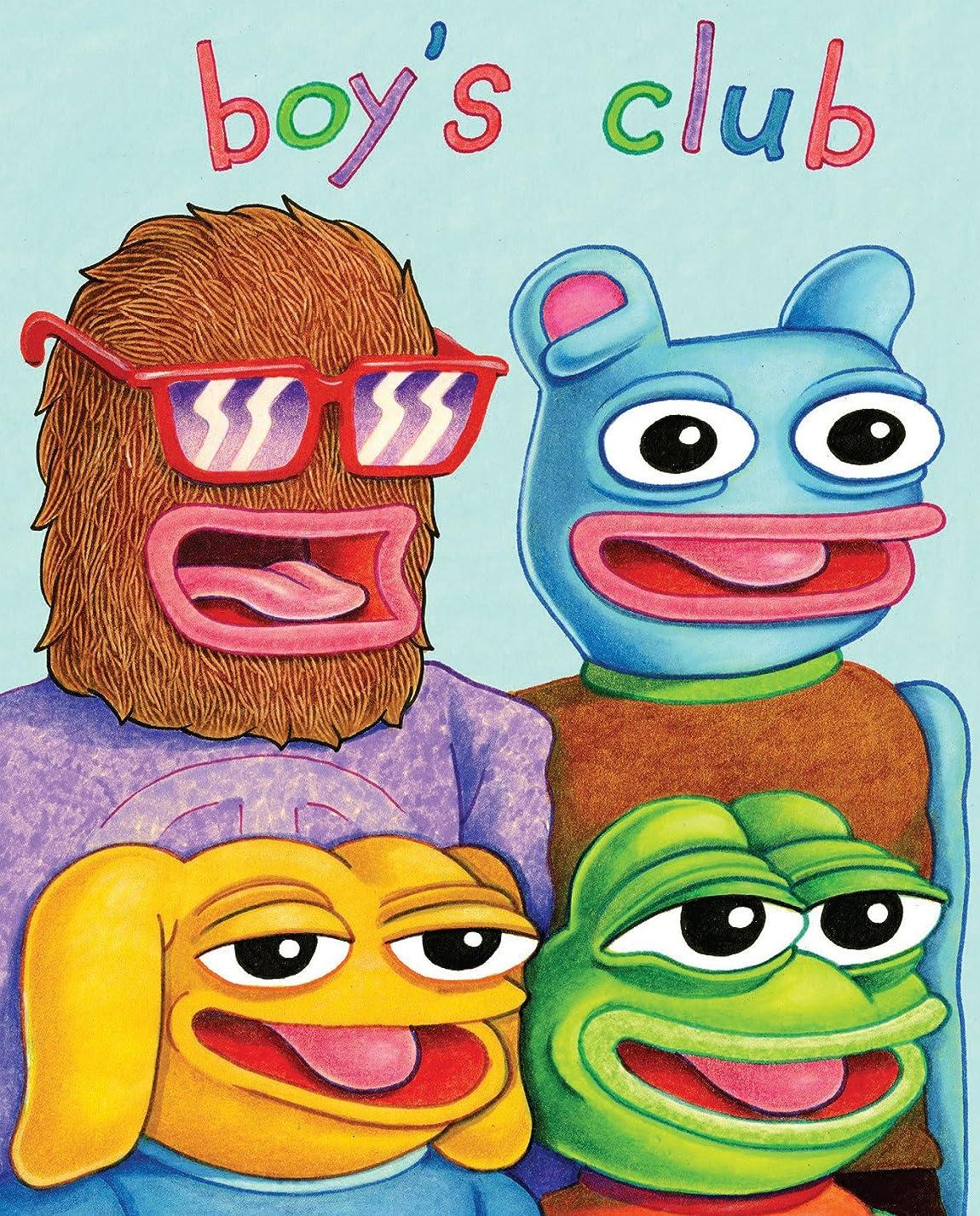 予報結果集計Boy's Club (English Edition)