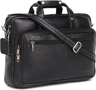 WildHorn Leather Messenger Bag for Men