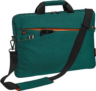 "PEDEA laptop bag""Fashion"" bag for notebooks with screens up to 17.3 inches (43.9 cm); shoulder bag with shoulder strap, tu..."