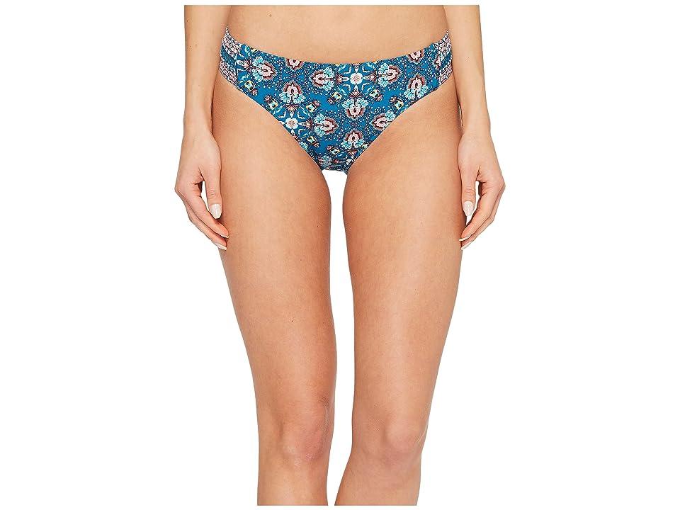 Laundry by Shelli Segal Butterfly Twin Bikini Bottom (Deep Teal) Women