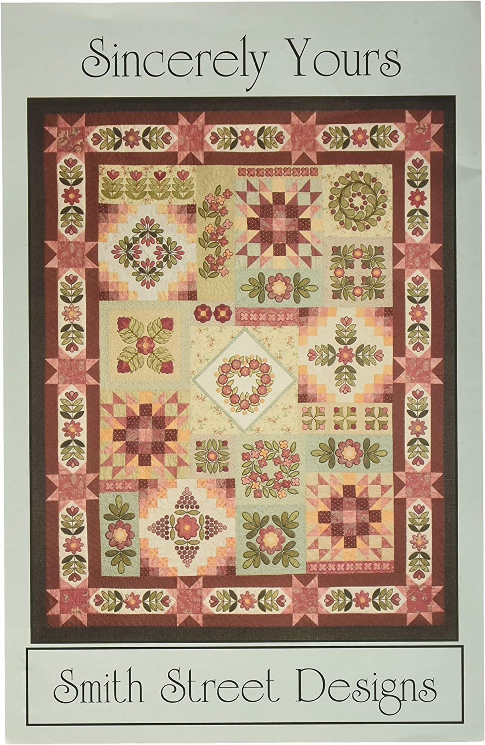All items free shipping Smith Street SEAL limited product Designs Sincerely pattern Yours Quilt