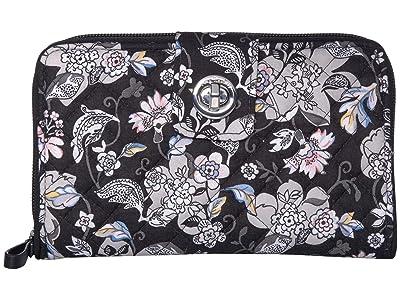 Vera Bradley Iconic RFID Turnlock Wallet (Holland Garden) Wallet Handbags