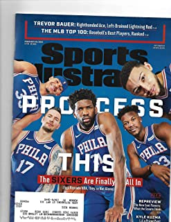 Sports Illustrated magazine February 25 2019{The Sixers Are All In} { postal label on front}