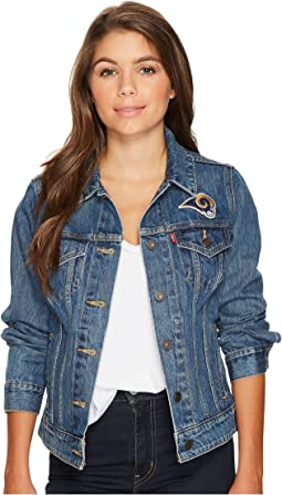 Rams Sport Denim Trucker