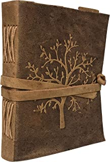 Leather Journal Tree of Life | Leather Tree of Life Notebook for Women | Tree of Life Journal and Notebook | Buffalo Leather Journal and Notebook | Leather Line Paper Journal and Notebook | Blank Book