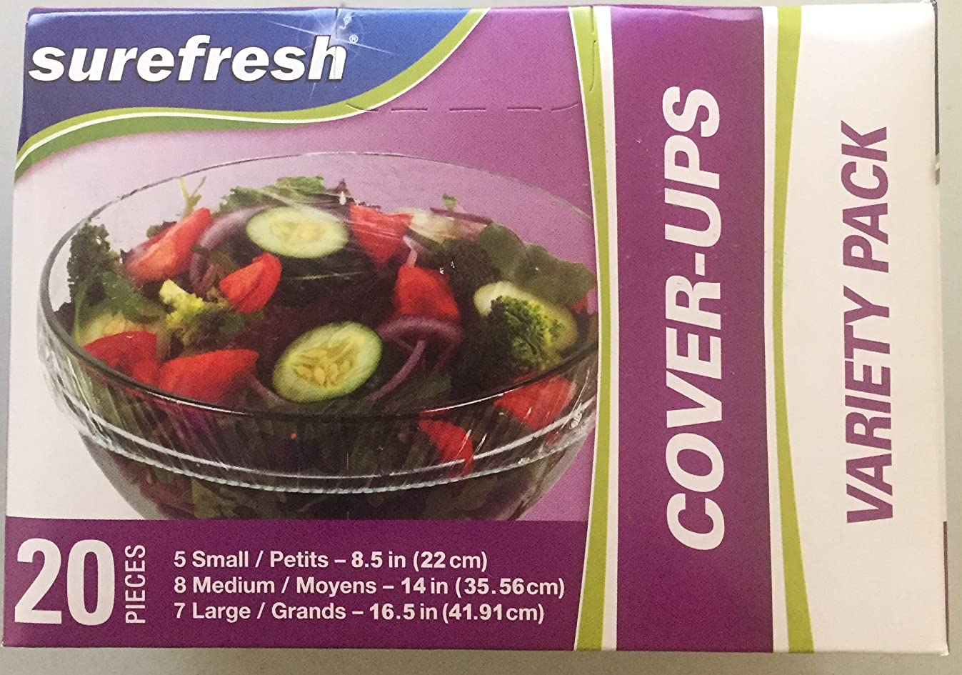 StorIt Cover-Ups Food Covers, Box of 20
