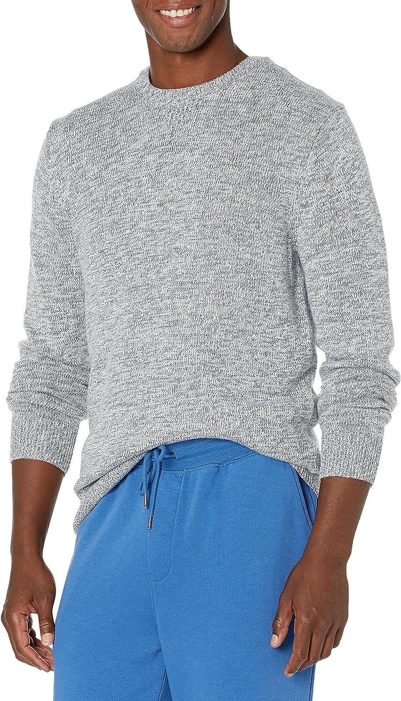 Amazon Brand - Goodthreads Men's Supersoft Marled Crewneck Sweater