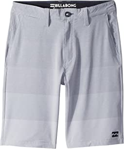 Billabong Kids - Crossfire X Faderade Shorts (Big Kids)