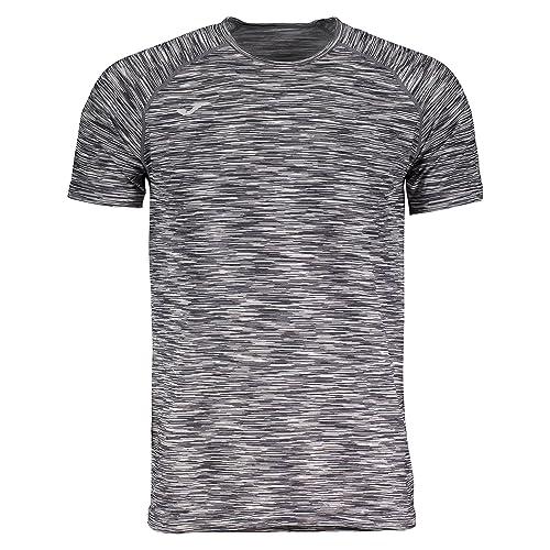 Joma Trail Camiseta, Hombre, Negro/Gris, S