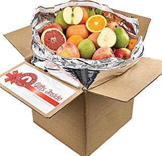 Gourmet Fruit Gift Pack, (20lbs) Orchard Fresh Oranges, Pears, Apples, and Grapefruit (32 pieces) loaded with Immunity Boo...