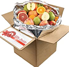 Gourmet Fruit Gift Pack, (20lbs) of Oranges, Pears, Apples, and Grapefruit (32 pieces)