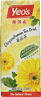 Yeo's Chrysanthemum Tea Drink, Lightly Infused Healthy Tea, Refreshing Asian Drinks, 250 ml (24 Pack)