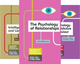 Macmillan Insights in Psychology series (17 Book Series)