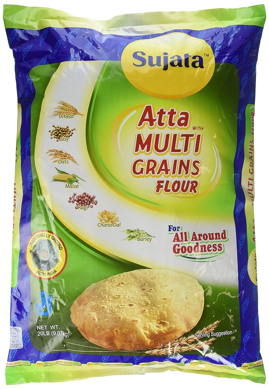 Sujata cheap Atta - Limited price sale Multi Grains 20lb Flour